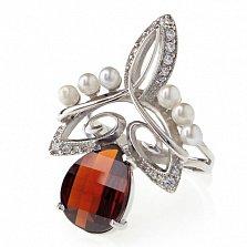Серебряное кольцо Влечение