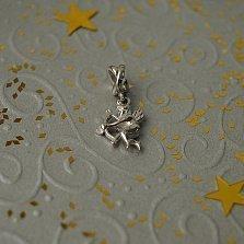 Серебряный шарм Купидончик с луком