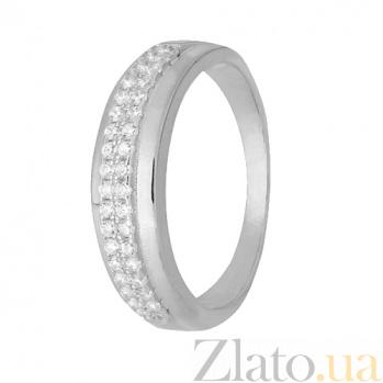 Кольцо из серебра с фианитами Асия 000028264
