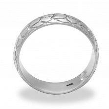 Кольцо из белого золота Michelin sirac rear