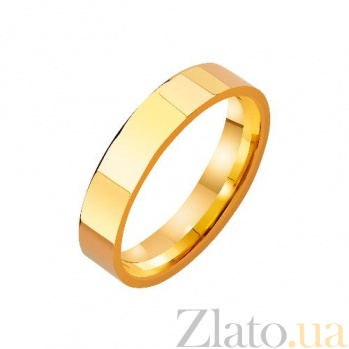 Золотое обручальное кольцо Страж верности TRF--4111269