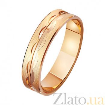 Золотое обручальное кольцо Дорога любви TRF--411056