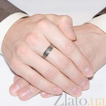 Золотое кольцо Молитва HUF--80758-Ч
