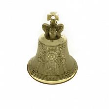 Бронзовый именной колокольчик Св. Пантелеймон