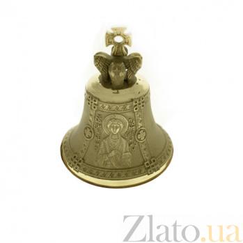 Бронзовый именной колокольчик Св. Пантелеймон К6011