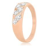 Серебряное кольцо с цирконием Элейн
