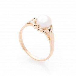 Золотое кольцо Алэйна с жемчугом
