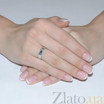 Обручальное кольцо из белого золота Любовная магия 2045ч