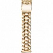 Золотой браслет для часов Хендерсон