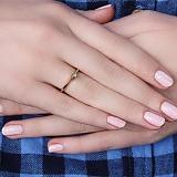 Золотое кольцо Мианис с изумрудом