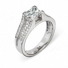 Кольцо из белого золота с бриллиантами Харриет